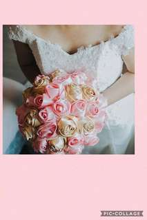Fabric Boquet for Wedding