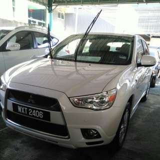 Mitsubishi asx 2.0 at year 2011/12