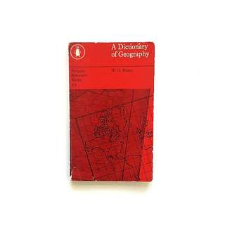 A Dictionary of Geography (W.G Moore)
