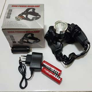 High Power Headlamp CREE T6 LED