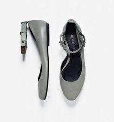 DEREK LAM Ankle Strap Ballet Flats
