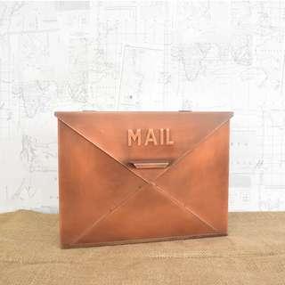 RENT: Copper Galvanized Mailbox