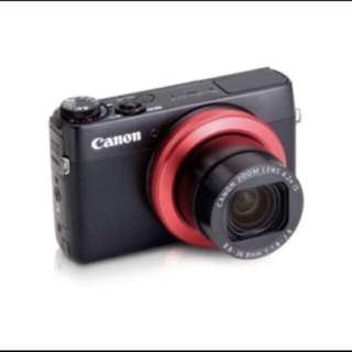 Canon Powershot G7x for Rent