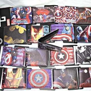 Marvel Leather Wallet