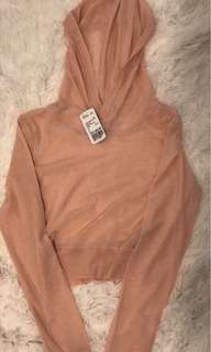 Forever 21 mesh hoodie - NWT
