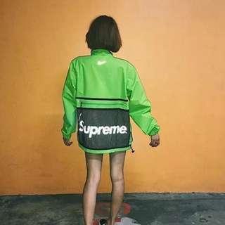 (📣剪標價) Supreme x Nikelab Air Humara Trail Running Jacket #綠