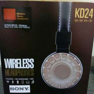 ✔Sony KD24 Wireless Headphone.
