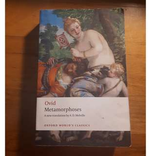 Ovid Metamorphoses tra. by A.D. Melville