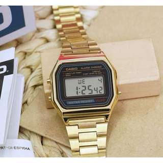 Casio Vintage Gold
