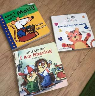Assorted Board Books for Kids