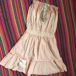 Boho dress (fits S to M)