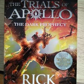 Percy Jackson the trails of apollo the dark prophecy