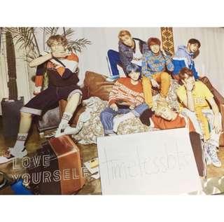 BTS Love Yourself 'V' Official Poster