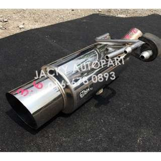 "Muffler Exhaust Performance Kakimoto GTbox 2.3"" Jp"