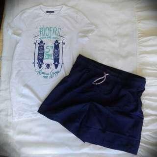 Summer shirt and Board short