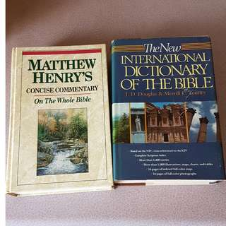 Commentary and dictionary of the bible