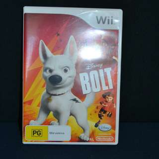 Disney's Bolt Wii Game