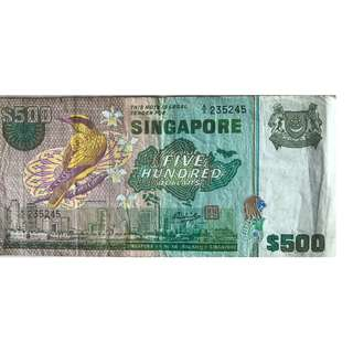 Bank Notes and gold coins