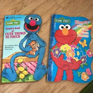 Sesame Street Board Books