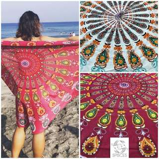 Mandala Round Beach Mat