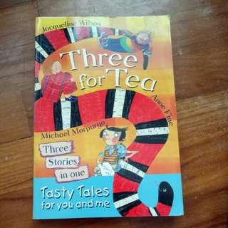 Three for tea: Anne Fine, Michael Morpurgo, Jacqueline Wilson