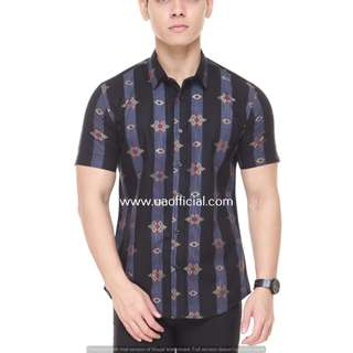 SHORT SLEEVE SHIRT SSB02-011 (BLACK)