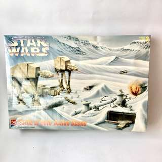 StarWars Battle of Hoth Action Scene Model Kit
