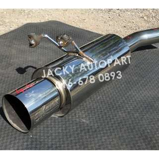 "Exhaust Muffler HKS Silent Hi Power 3"" Turbo Japan"