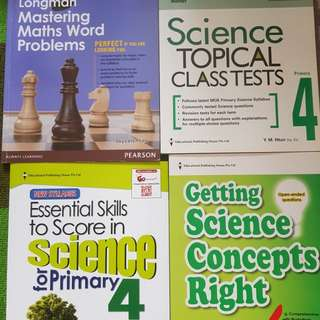 P4 Brand New Assessment Books