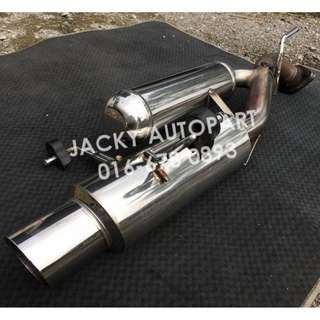 "Muffler Exhaust Hks Es Wagon w Resonator 2.3"" Jpn"