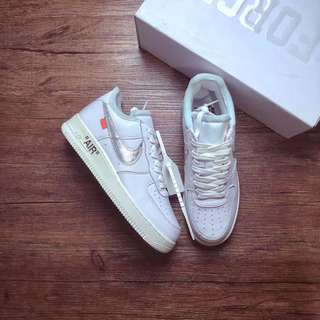 off-white x Nike Air force 1 complexion
