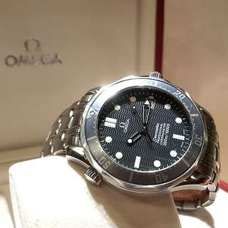 Omega Blue Wave Seamaster Diver's Watch