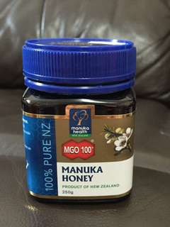 Manuka Honey MGO 100 100% pure NZ