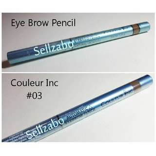 Eye Brows Pencils : Brown : Soft Natural : Eyes : Eyesbrow : Eyebrows : Slant : Slanting : Flat Tip : Automatic : Retract : Retractable : Beauty : Colours : Makeup : Cosmetics : Couleur Inc