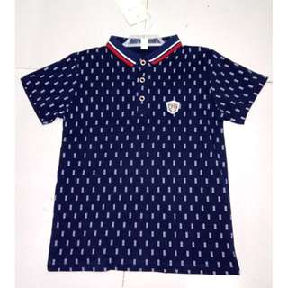 Korean Inspired Polo Shirt for Kids