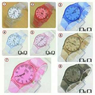 Jam tangan Q&Q Jelly tahan air