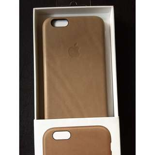 Apple iPhone 6 6s Brown Leather Case