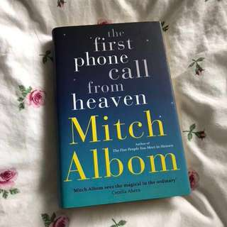 Mitch Albom - the first phone call from heaven(hard cover)