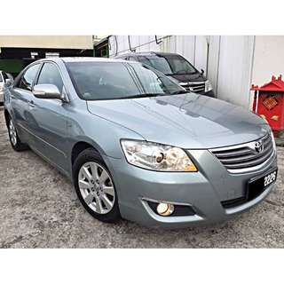 Toyota Camry 2.0 E (Auto) Leather Seat Luxury Sedan 2007/08