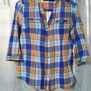 Celine checkered shirt