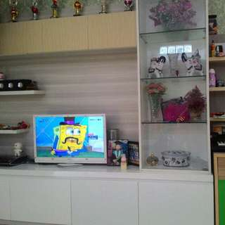 Kitchen set, lemari pakaian, lemari baju, lemari tv dll
