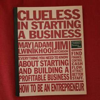CLUELESS IN STARTING A BUISINESS