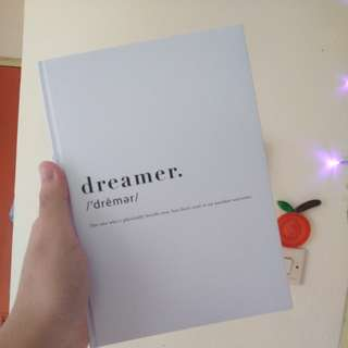 Dreamer Blank Page Concept Book