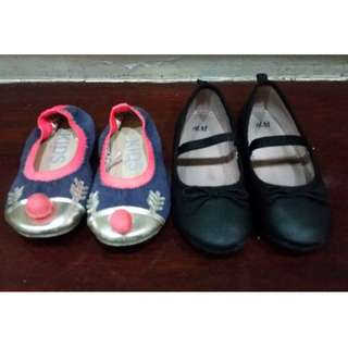 Girls' Shoes (2 pairs) size US9.5