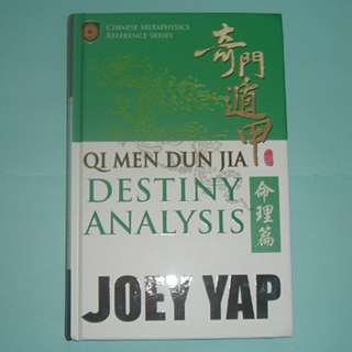 Joey Yap Qi Men Dun Jia Destiny bazi fengshui book