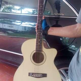 Gitar merk cole clark akustik elektrik