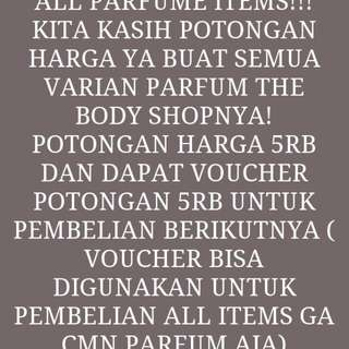 Promo all varian The Body Shop