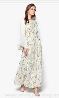 BNWT Zalia white maxi dress