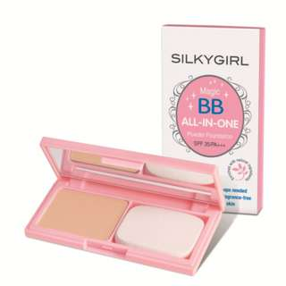 Silkygirl Magic BB All in one powder foundation in 04 Rose Beige