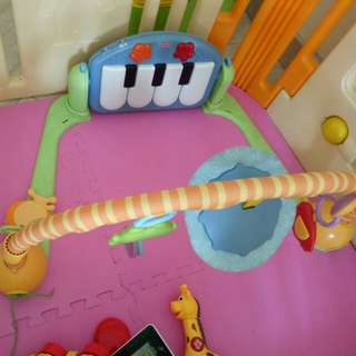 Used baby music gym